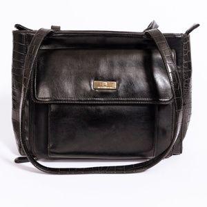Liz Claiborne black shoulder handbag purse
